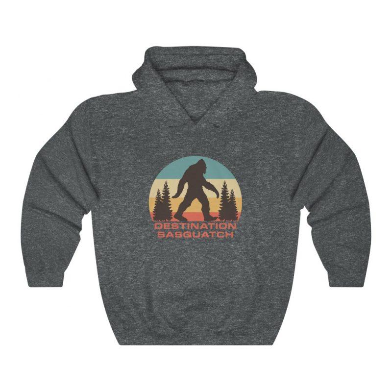 DS Bigfoot Sunset Hooded Sweatshirt 7