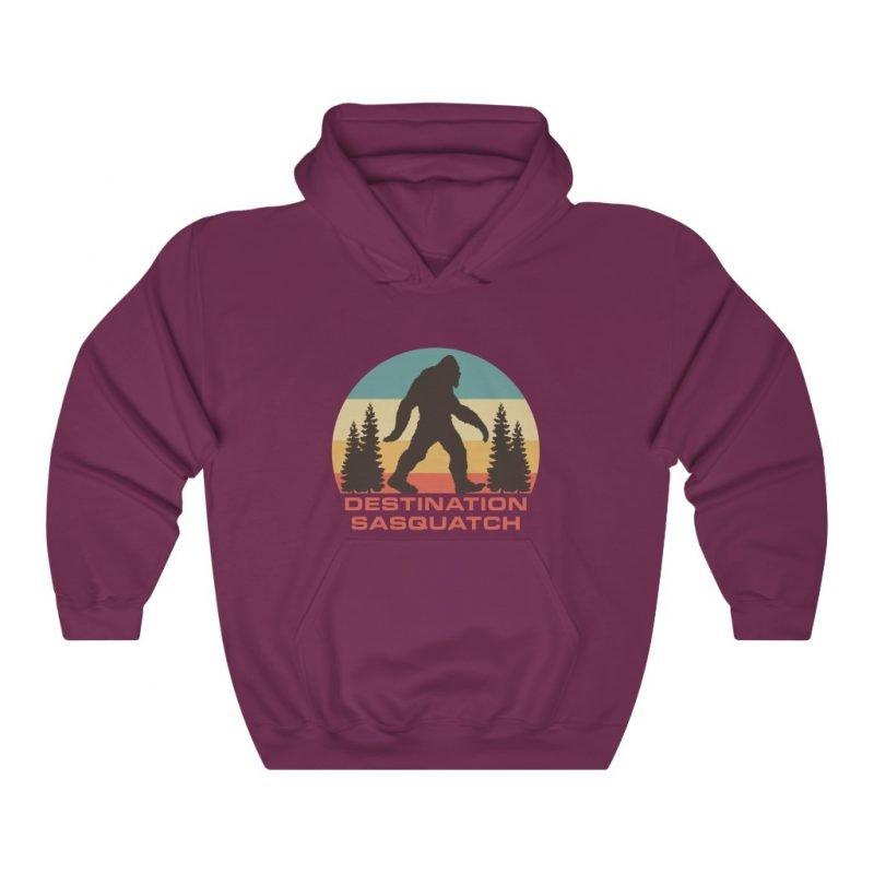 DS Bigfoot Sunset Hooded Sweatshirt 9