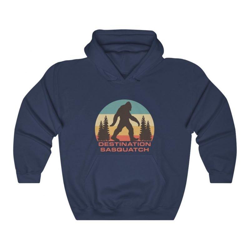 DS Bigfoot Sunset Hooded Sweatshirt 8