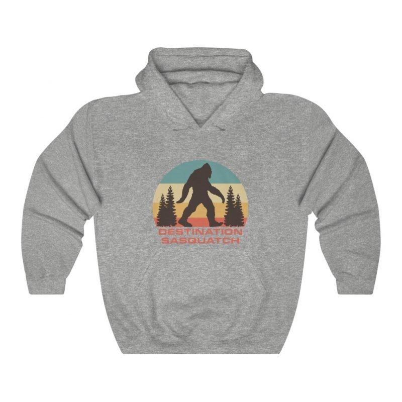 DS Bigfoot Sunset Hooded Sweatshirt 3