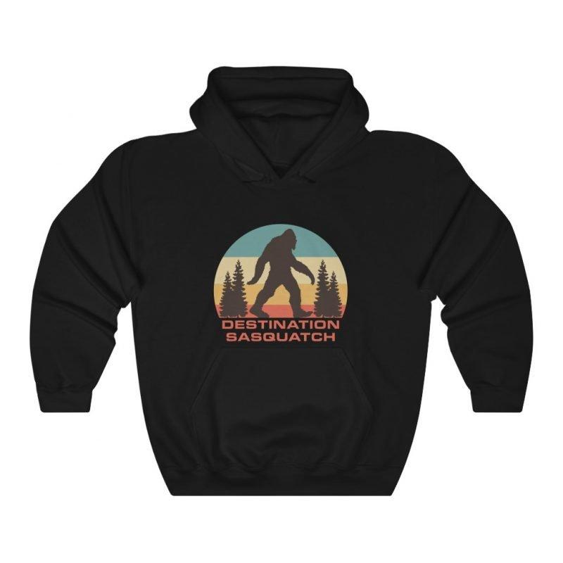 DS Bigfoot Sunset Hooded Sweatshirt 1