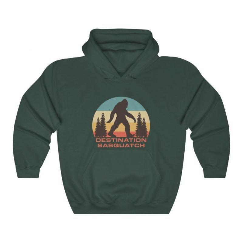 DS Bigfoot Sunset Hooded Sweatshirt 6