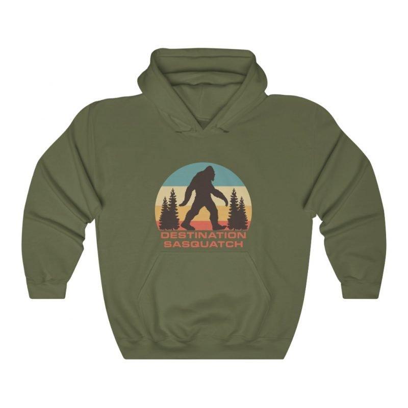 DS Bigfoot Sunset Hooded Sweatshirt 5