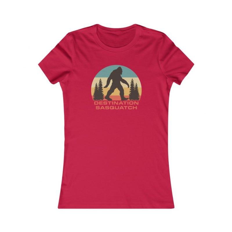 Bigfoot Sunset Women's Tee 5
