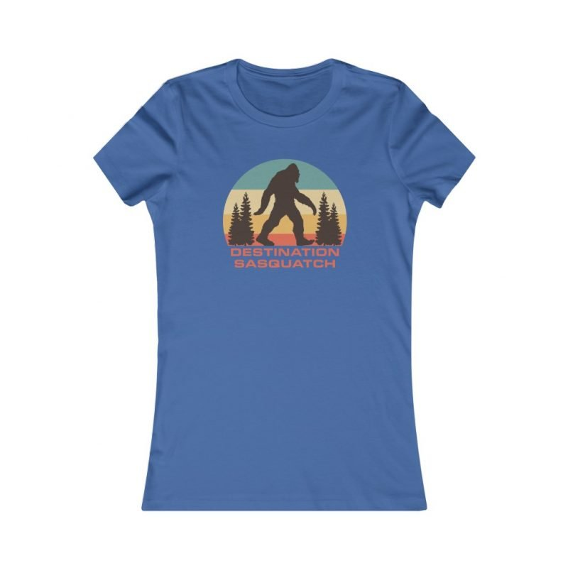 Bigfoot Sunset Women's Tee 4