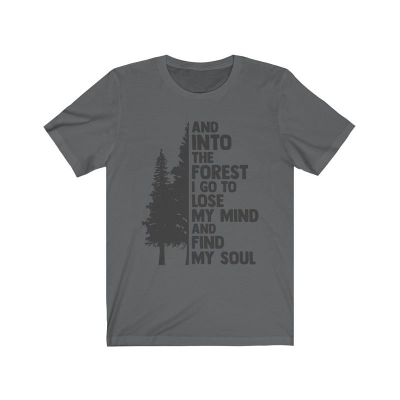 Unisex Into the forest tee 5