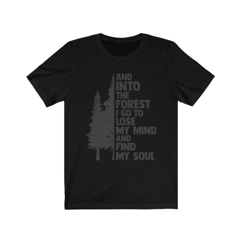 Unisex Into the forest tee 3