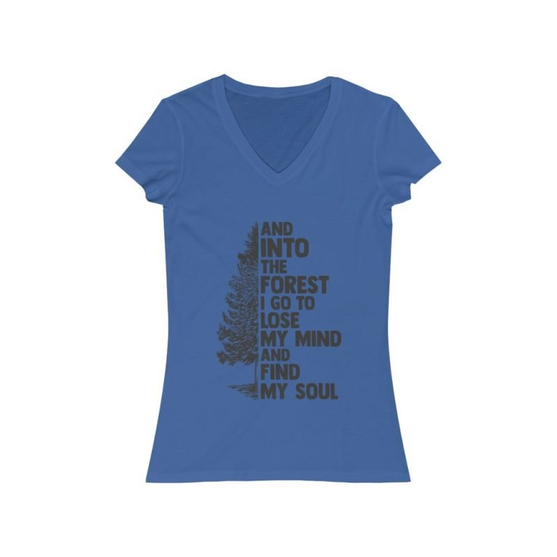 Women's Into the forest V-Neck Tee 4
