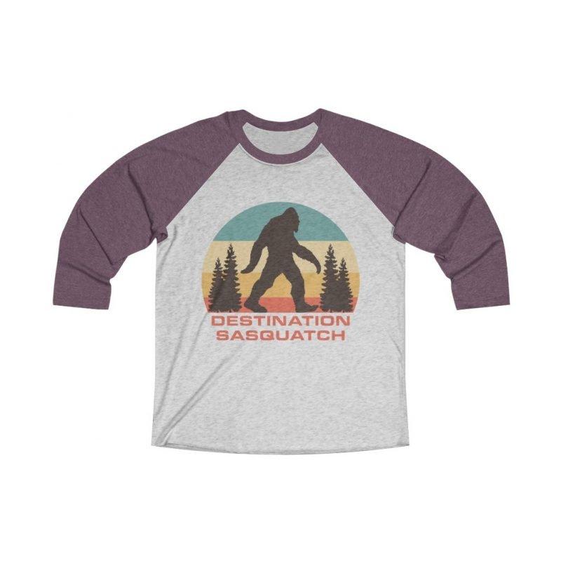 DS Bigfoot Sunset Tri-Blend 3/4 Tee 4